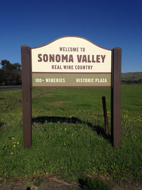Welcome to Sonoma Valley